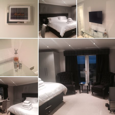 Haddington, UK: The room was soo nice my wife did a montage for instagram