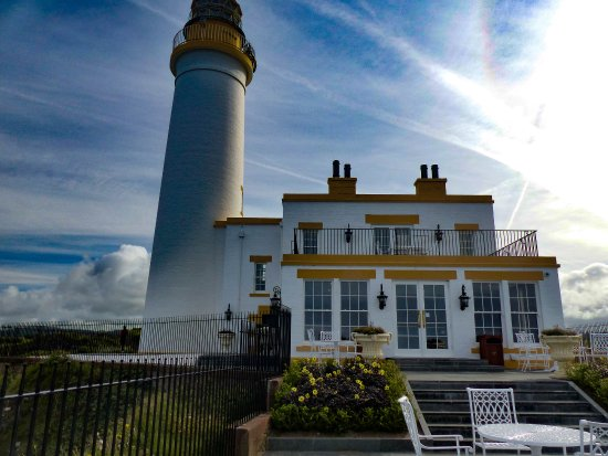 Turnberry, UK: Up close - you can't get closer to the sea