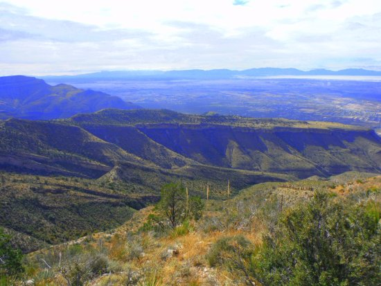 Cloudcroft, Nuevo Mexico: Great valley view