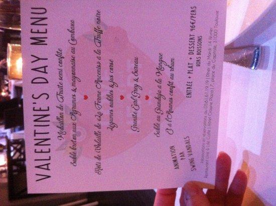 Crowne Plaza Toulouse: Saint Valentin!! Decor somptueux et neuf:-)tres classe merite ses cinq etoiles!