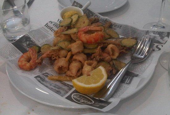 San Giorgio di Nogaro, Italia: fritto misto