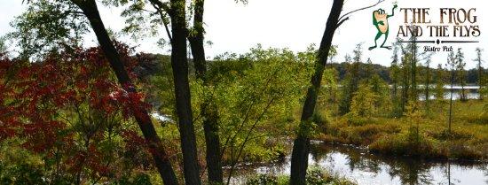 New Auburn, WI: On beautiful Larrabee Lake