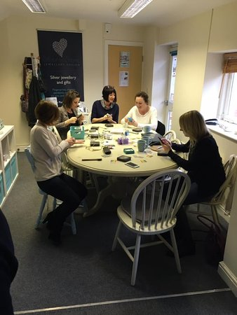 Riccall, UK: Workshop in progress