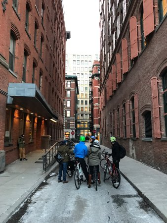 Bike the Big Apple: Photo's from Lower Manhattan Tour on 14.02.2017