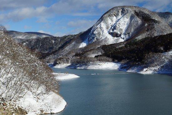 Osaki, Japan: 冬の鳴子ダム
