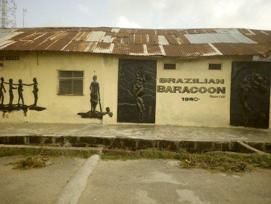 Badagry, Nigeria: slave brazillian baracoon