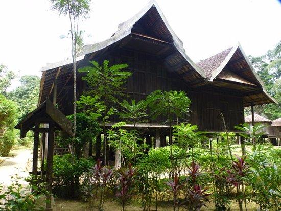 Kuala Terengganu, Malesia: Malayisches Haus