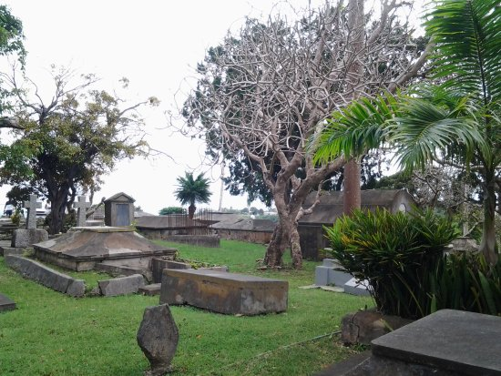 Union Hall, Barbados: Friedhof
