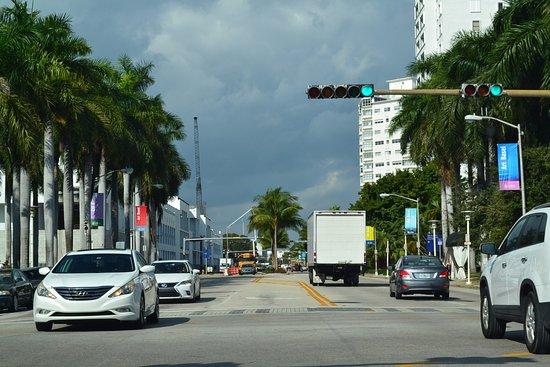 Greenview Hotel: Vista de Washington Avenue, South Beach