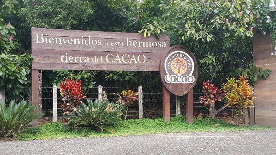 El Sendero del Cacao: entrance