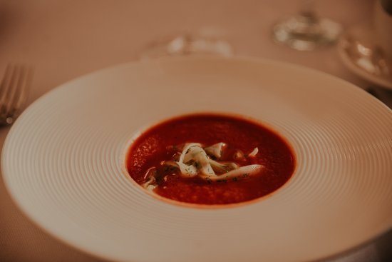 New Hamburg, แคนาดา: Roasted Tomato and Fennel Soup (Banquet Hall)