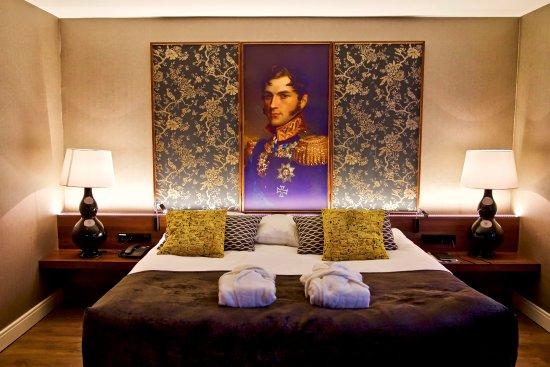 Kasteel Bloemendal: hotelkamer