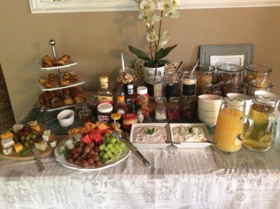 Addo, Südafrika: ontbijt