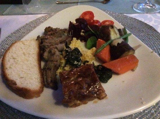 Addo, Sudafrica: het eten
