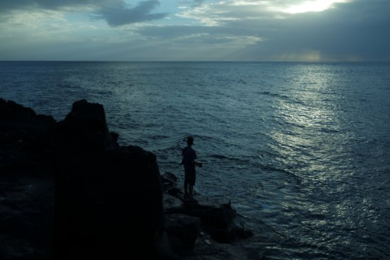 Basse-Terre, กวาเดอลูป: Le pêcheur