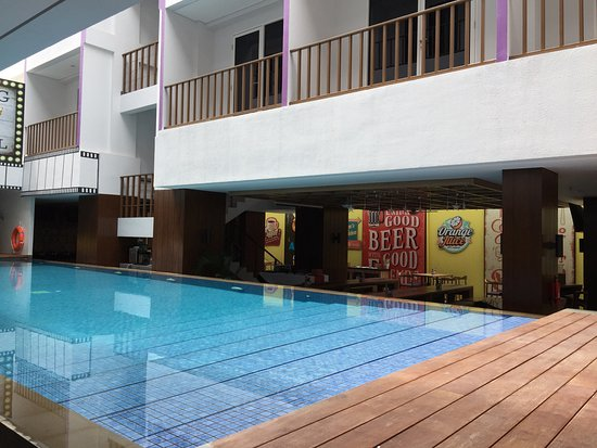 Pool Picture Of Fame Hotel Sunset Road Kuta Bali Legian Tripadvisor