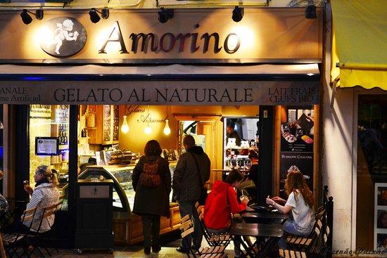 Amorino : Para mim, o melhor gelado, em Cannes.