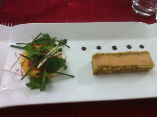 Sainte-Hermine, ฝรั่งเศส: foie gras