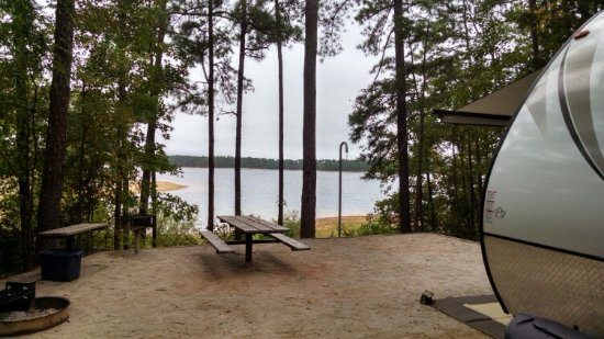 Appling, GA: View from our campsite