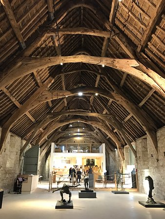 Tisbury, UK: Fantastic building! Great new art gallery, Well worth a visit, nice little shop and cafe as well