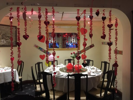 Melksham, UK: Valentine's  night