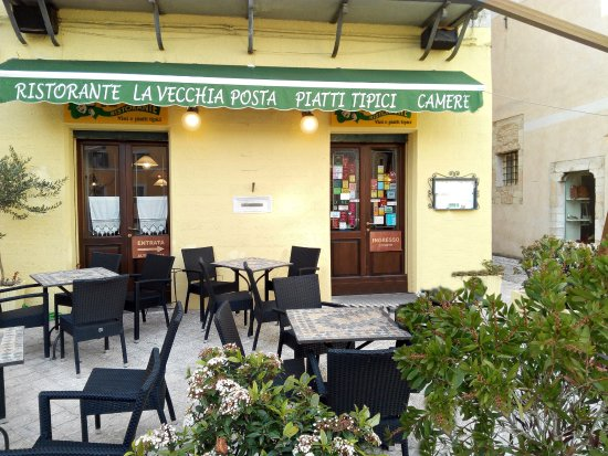 Trevi, Italië: Vista ingresso