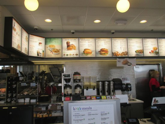 Blaine, MN: Inside menu boards