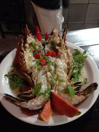 San Benedito Emporium: lagosta