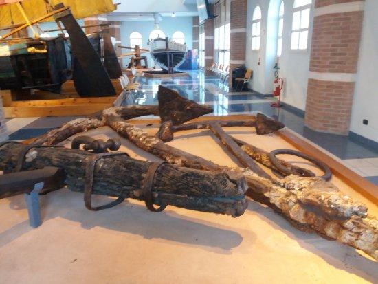 Cesenatico, Italia: Museo interno