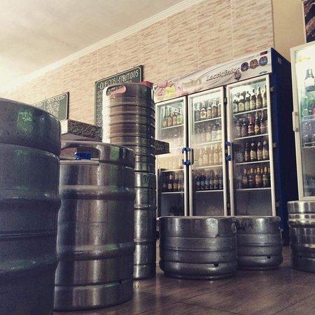 Piracicaba, SP: cervejas e chopps aguardando os clientes e amigos