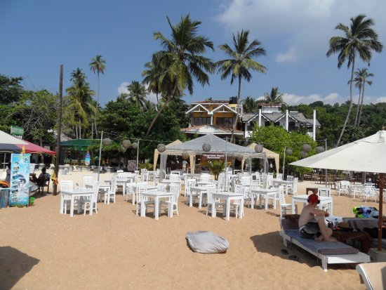 Thaproban Beach House: Restaurangen.