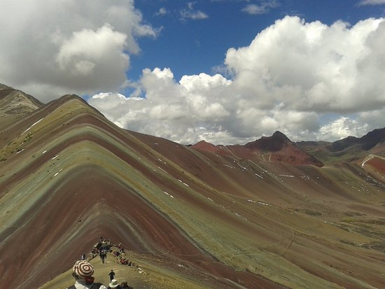‪Rainbow Mountain Peru‬