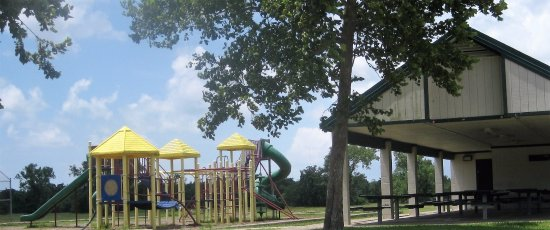 Hitchcock, TX: One of the playgrounds