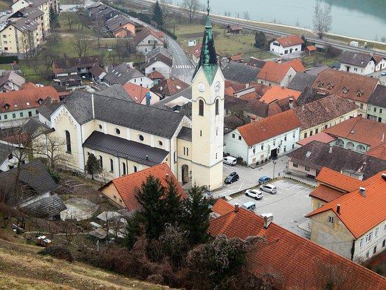 Zupnijska cerkev sv. Nikolaja v Sevnici