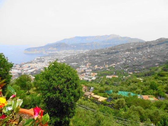 Hotel La Vue D'Or: Vue de la terrasse