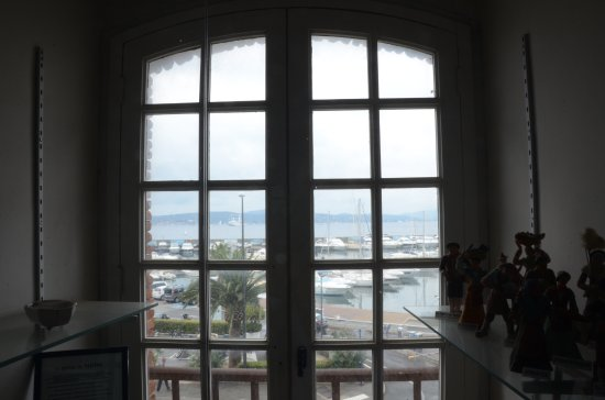 Musee De La Tour Carree: View Over The Harbour From The Museum Tower