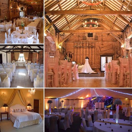 Dereham, UK: Set up for a wedding in our 3 function rooms
