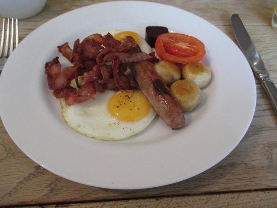 Montgomery, UK: Breakfast