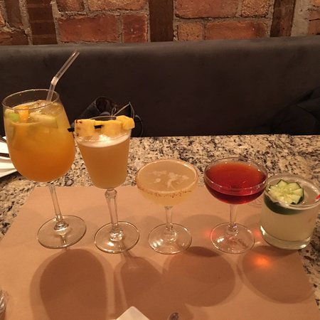 Peekskill, NY: A variety of cocktails!