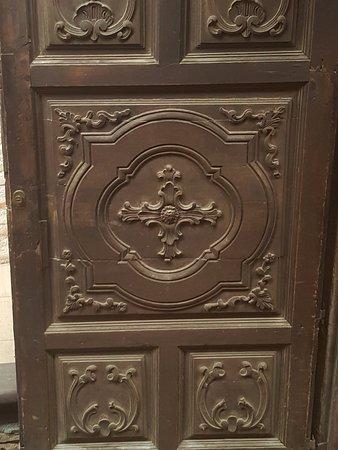 San Juan de la Pena, Hiszpania: puerta