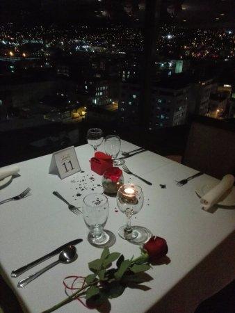 Radisson Hotel Trinidad : Clouds 360º Restaurant