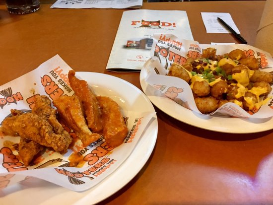 Hooters: Half price at happy hour