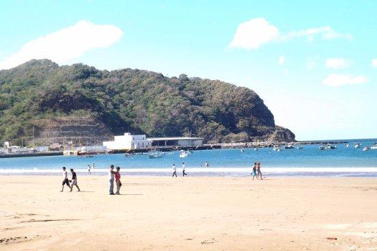 San Juan del Sur Surf and Sport : Uno de los extremos de la Bahía!