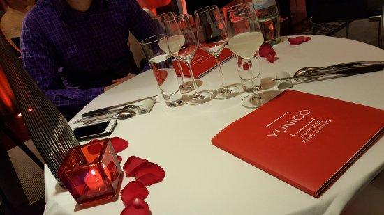 Tischdeko Am Valentinstag Bild Von Yunico Japanese Fine Dining