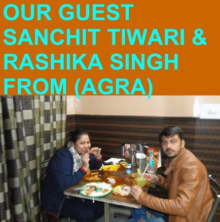 OUR GUEST FROM (AGRA)