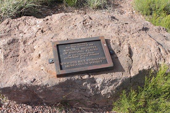 วินสโลว์, อาริโซน่า: Another informative plaque