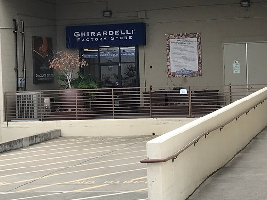 Ghirardelli Chocolate Photo. Factory Outlet Store, Ghirardelli Chocolate, San  Leandro ...