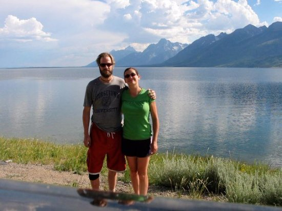 Jenny Lake: On our honeymoon in 2007