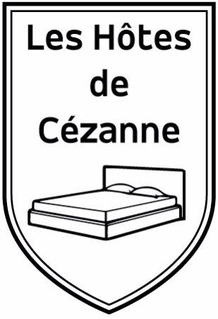 Les hôtes de Cézanne : enseigne