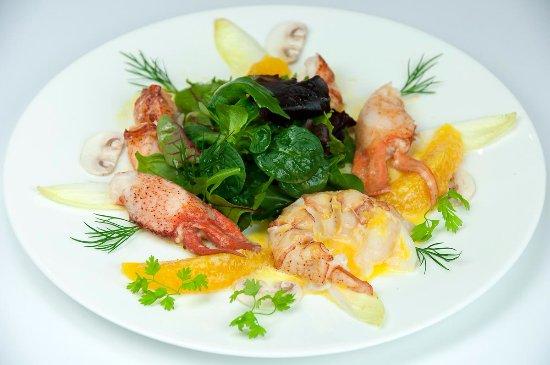 Zum Ochsen Restaurant: Hummer Salat, Orangenbutter
